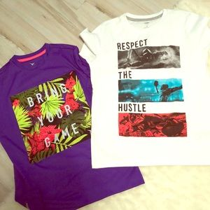 Set of 2 boys t shirts
